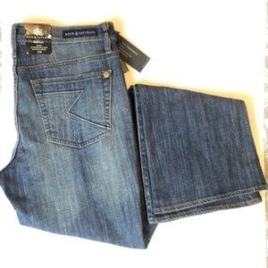 Rock & Republic Distressed Bootcut Jeans NWT